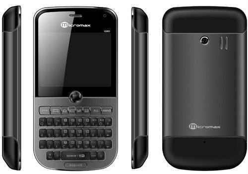 Micromax launches push-email phone Q80 at Rs 4999