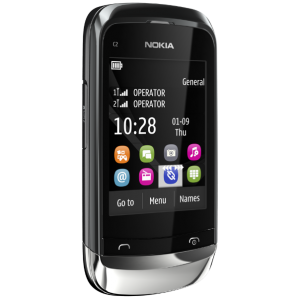 Nokia C2 Touch and Type dual SIM mobile phone