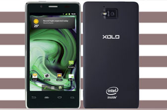 Lava Xolo X900, Intel's first Atom-based smartphone